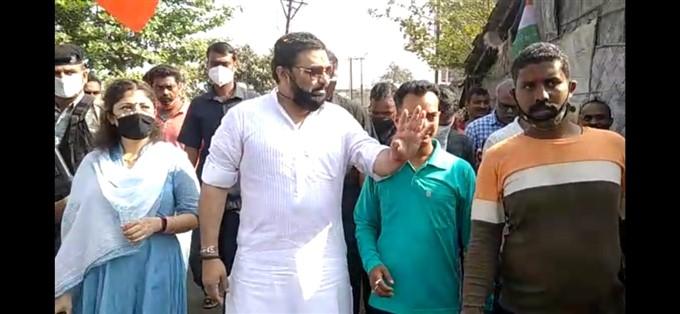 Babul Supriyo Campaigning For BJP In West Bengal