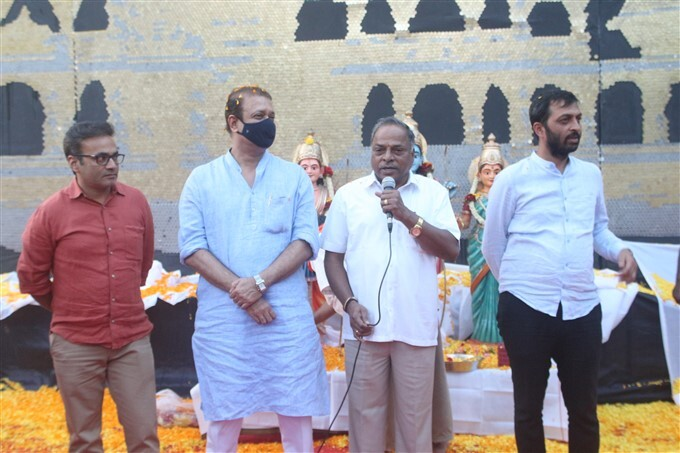 Bengaluru Rashtra Dharma Foundation Created Sri Ram Mandir Art Work Using Coins