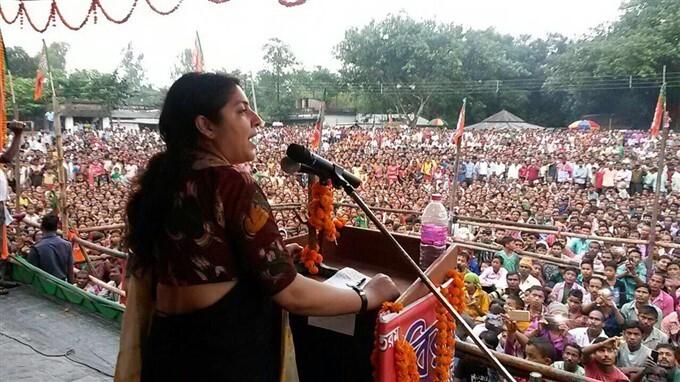 BJP Leader Locket Chatterjee