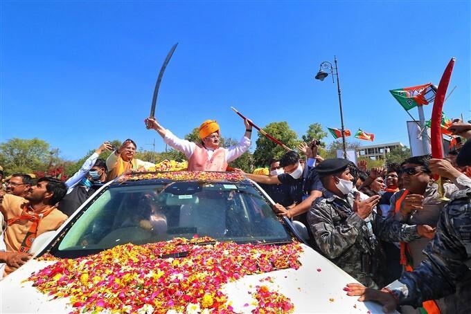 BJP National President JP Nadda Visit To Rajasthan