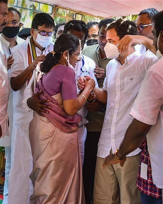 Congress Leader Rahul Gandhi Election Campaign In Kanyakumari
