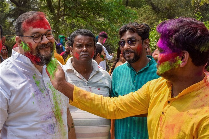 Holi Festival Celebration Across India