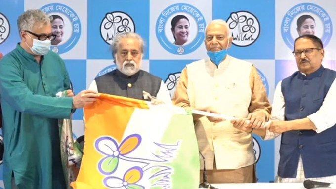Former BJP Leader Yashwant Sinha Joins TMC