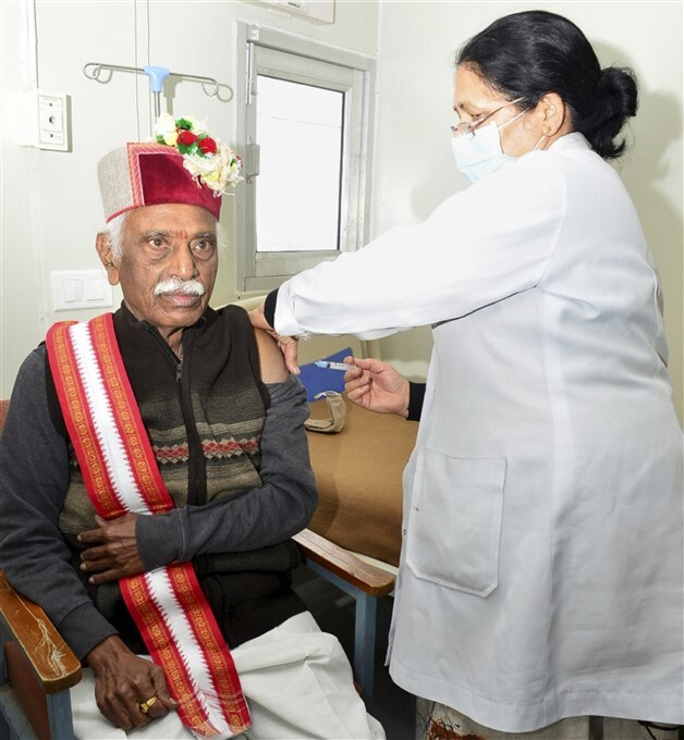 2nd Phase Of COVID-19 Vaccination Across India, 13/03/2021