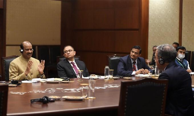 Inter-Parliamentary Union President Duarte Pacheco In New Delhi