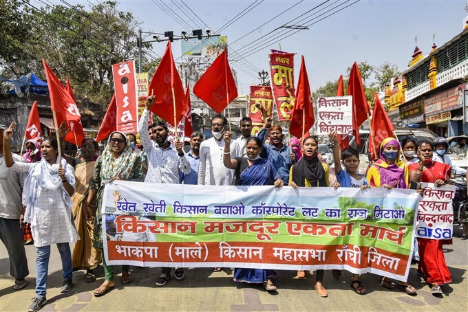 Farmers Protest: 12-hour Bharat Bandh Across India