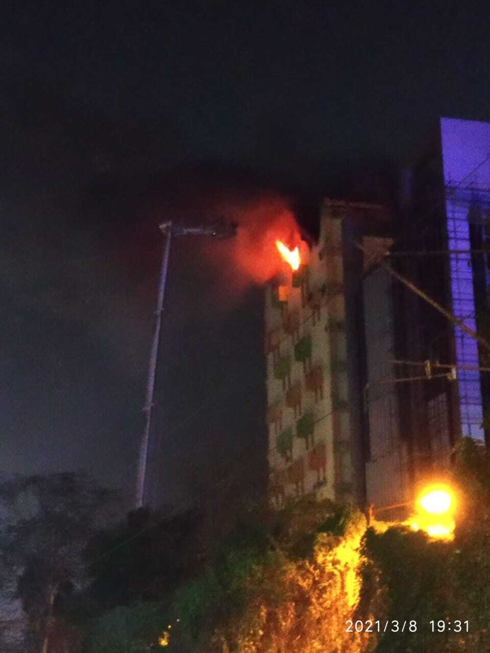 Massive Fire Breaks Out At Kolkata Building
