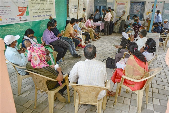 COVID 19 Vaccination Across India, 22/03/2021