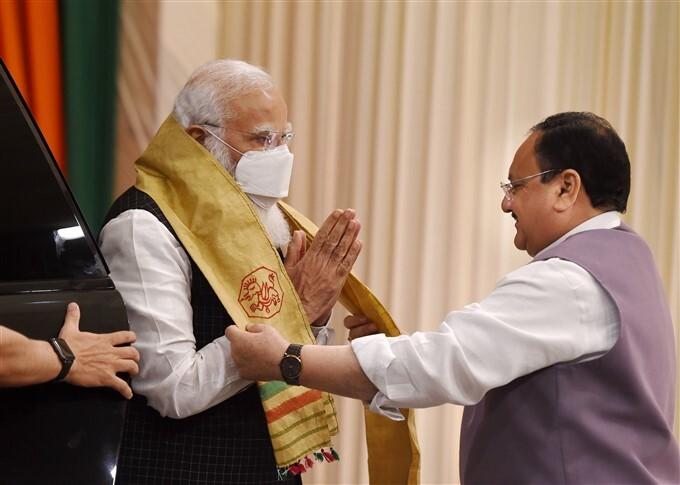 ಚಿತ್ರಗಳು : ಮೋದಿ ಅಧ್ಯಕ್ಷತೆಯಲ್ಲಿ ವಿಧಾನಸಭೆ ಚುನಾವಣೆಗಳ ಕುರಿತು ಬಿಜೆಪಿಯ ಸಿಇಸಿ ಸಭೆ
