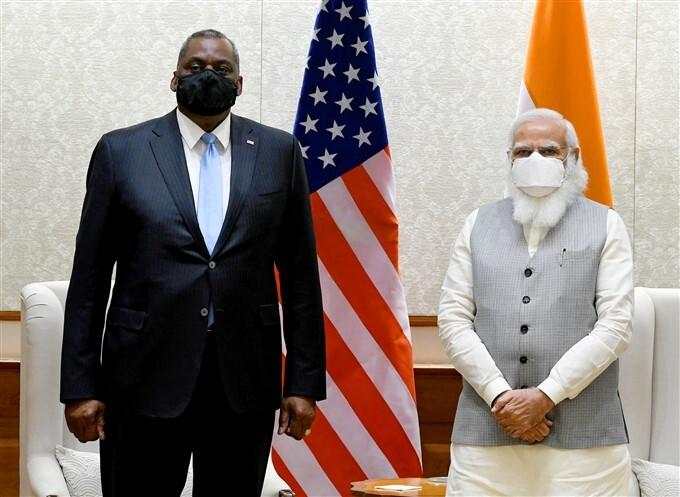 US Defence Secretary Lloyd Austin 3 Day Visit To India