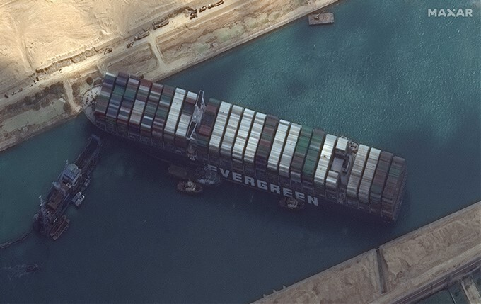 Ever Given Container Ship Refloated At Suez Canal