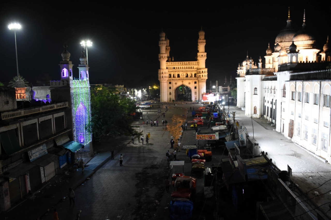 హైదరాబాదులో రాత్రివేళ కర్ఫ్యూ