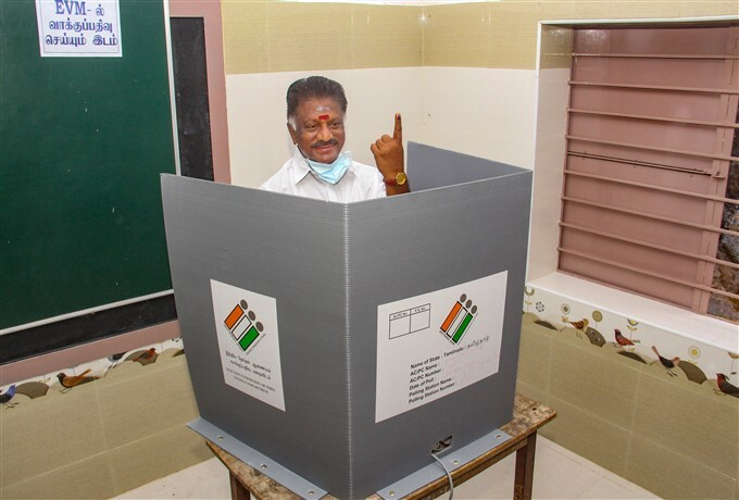 Tamil Nadu Assembly Elections - Polling