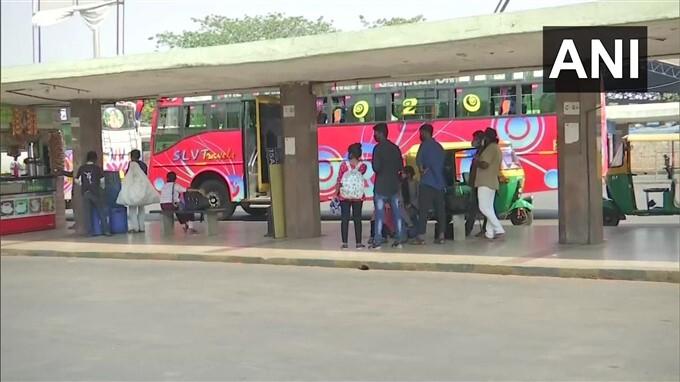 2nd Days: KSRTC And BMTC Transport Employees Strike In Karnataka, 08/04/2021