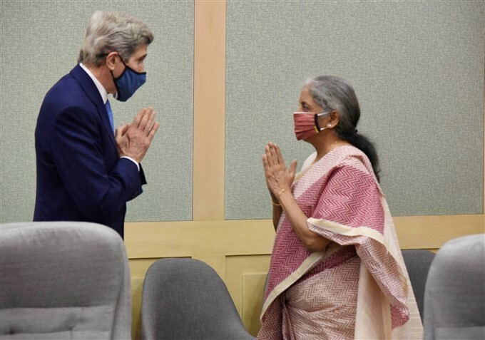 US Climate Envoy John Kerry 2 Day Visit To India