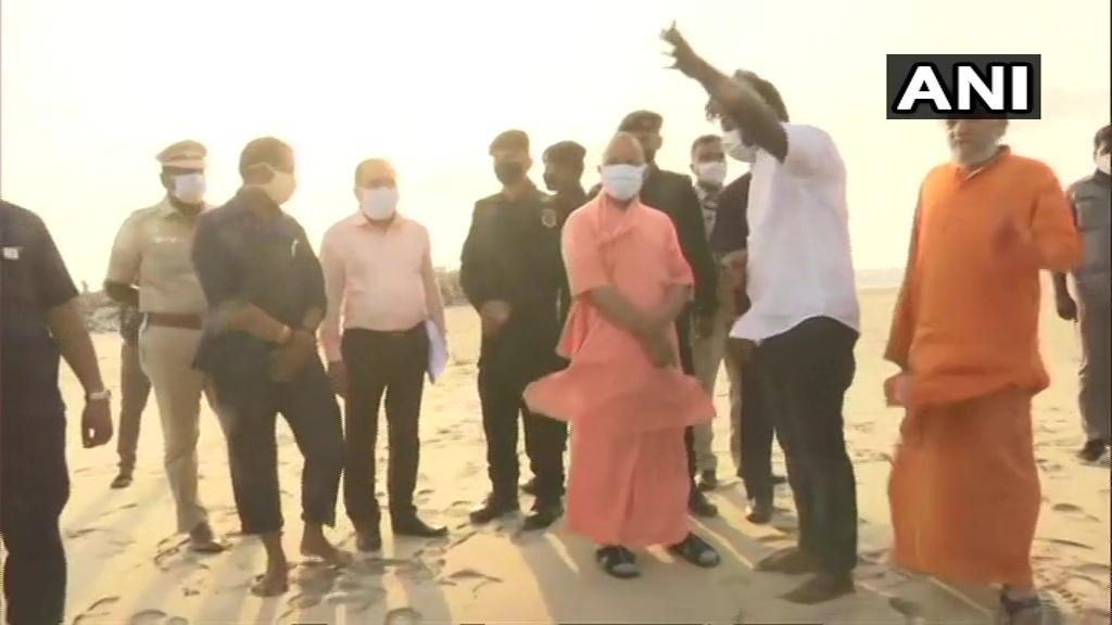 തമിഴ്നാട്ടിലെ വിവിധ ക്ഷേത്രങ്ങളില് ദര്ശനം നടത്തുന്ന ഉത്തര് പ്രദേശ് മുഖ്യമന്ത്രി യോഗി ആദിത്യനാഥ്: ചിത്രങ്ങള്