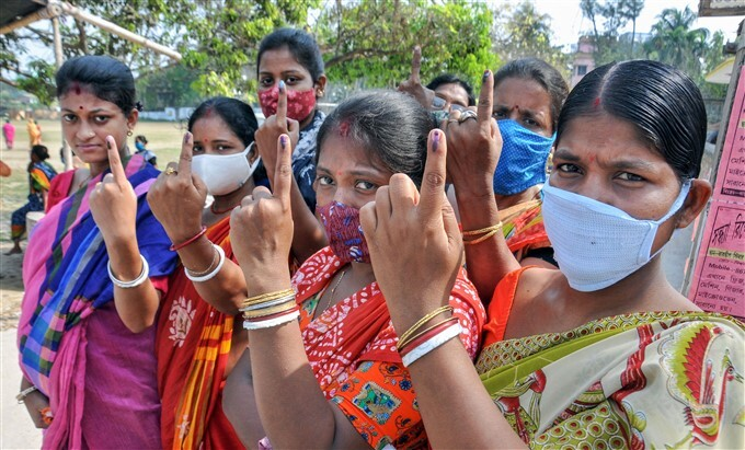 West Bengal Assembly Elections 2nd Phase - Polling
