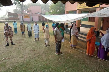 West Bengal Assembly Elections 3rd Phase - Polling