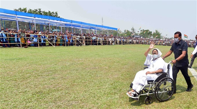 WB CM Mamata Banerjee Election Campaign In West Bengal