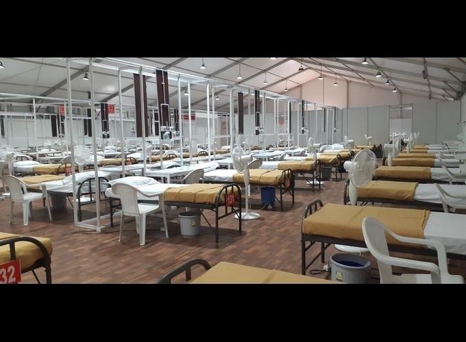 బళ్లారిలో 1000 పడకల కోవిడ్ కేంద్రాన్ని ఏర్పాటు చేసిన జేఎస్డబ్ల్యూ స్టీల్స్
