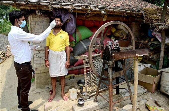 ಚಿತ್ರಗಳು: ದೇಶಾದ್ಯಂತ ಕೋವಿಡ್-19 ಪರೀಕ್ಷೆ