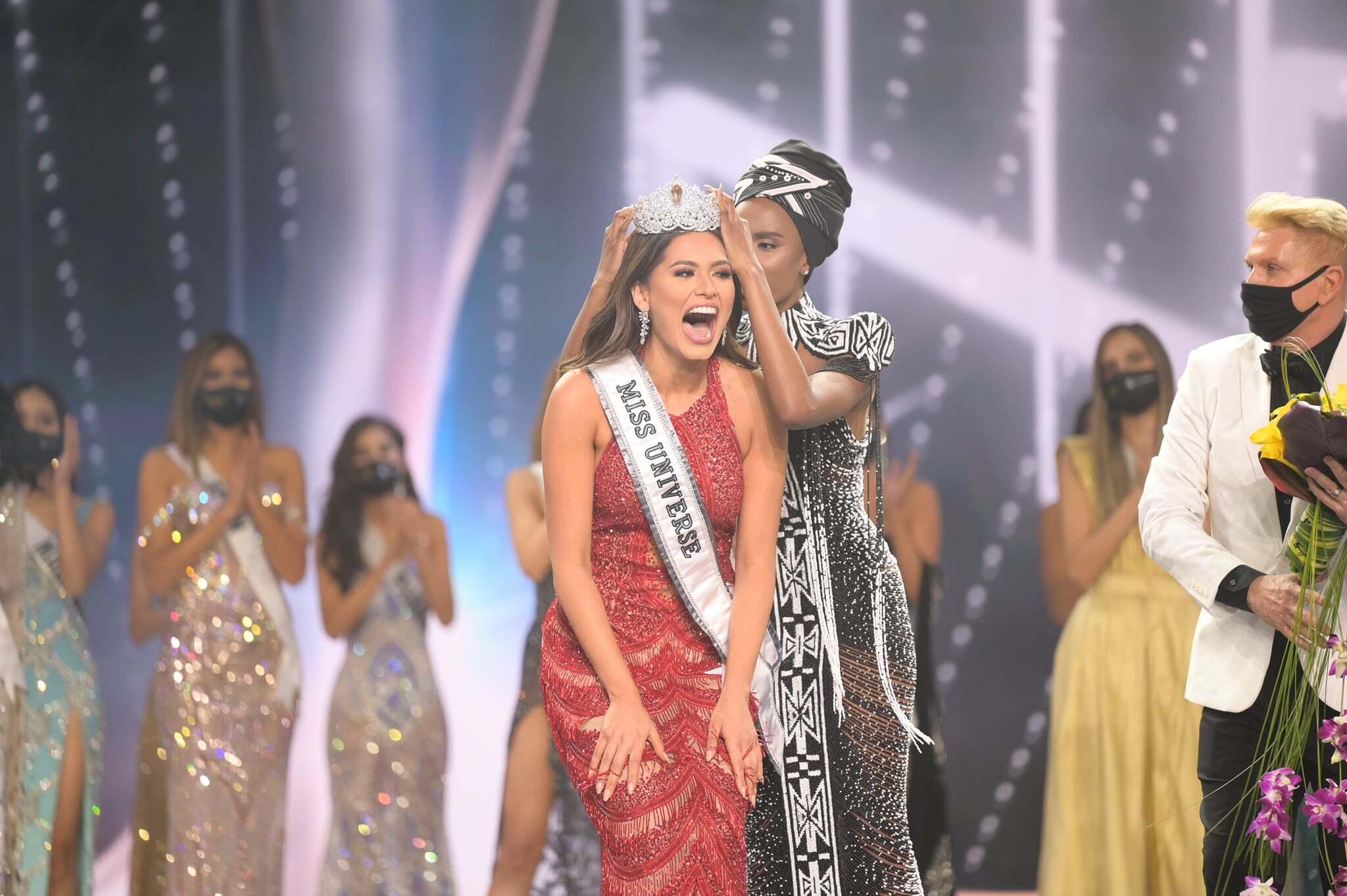 मिस मैक्सिको एंड्रिया मेजा ने जीता मिस यूनिवर्स 2020 का खिताब