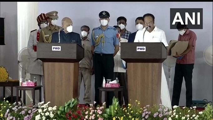 33 Ministers Take Oath As Cabinet Minister Of State In TN