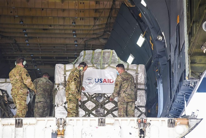 Covid-19 Aid Supplies From Foreign Arrives In India