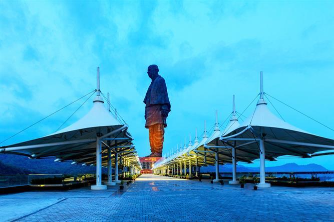 સ્ટેચ્યૂ ઑફ યુનિટી- વિશ્વની સૌથી ઊંચી સરદારની પ્રતિમાની ઝલક