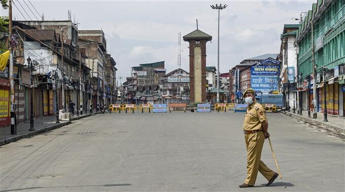 Covid-19 2nd Wave: Lockdown Imposed As Coronavirus Cases Surge In Srinagar