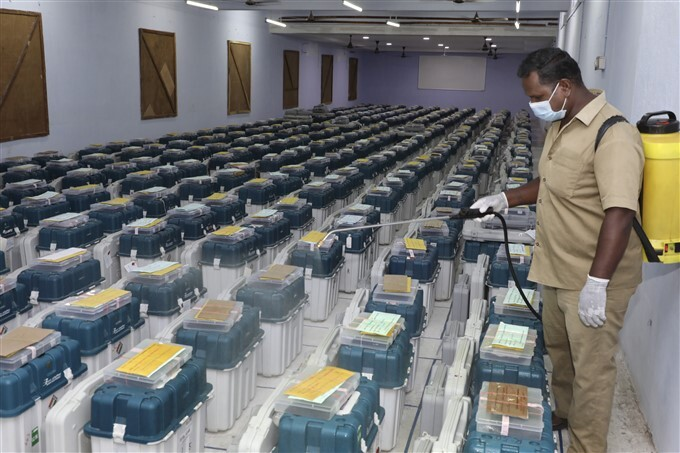 5 States Assembly Elections Results - Counting