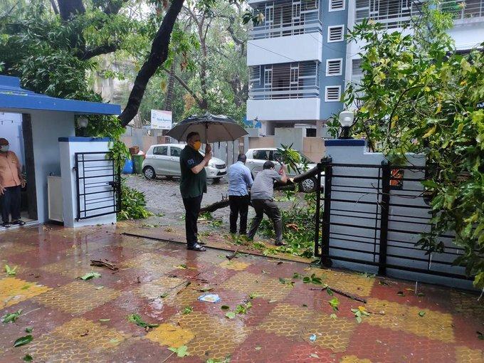 Cyclone Tauktae: Heavy Rain Lashes In Mumbai