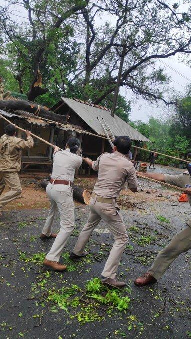 Cyclone Yaas Photos: ઓરિસ્સામાં વાવાઝોડા યાસના કારણે થયેલુ નુકશાન