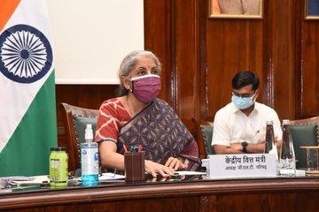 FM Nirmala Sitharaman Chairs The 43rd GST Council Meeting In New Delhi