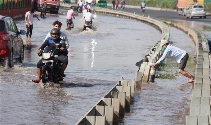 Heavy Rainfall In Haryana, 2021