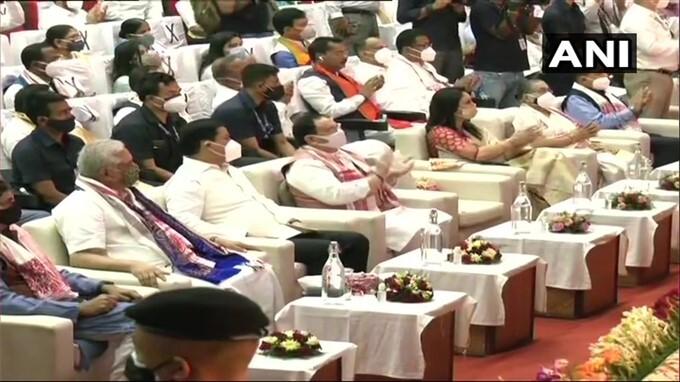 Himanta Biswa Sarma Sworn In As Chief Minister Of Assam
