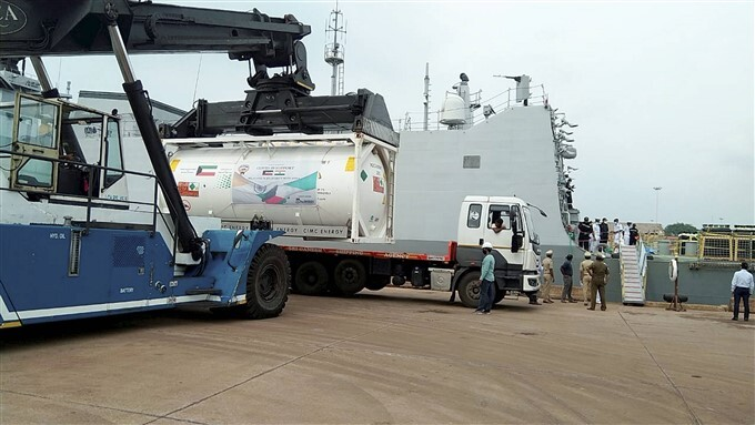 Covid-19 Relief Supplies From Foreign Arrives In India
