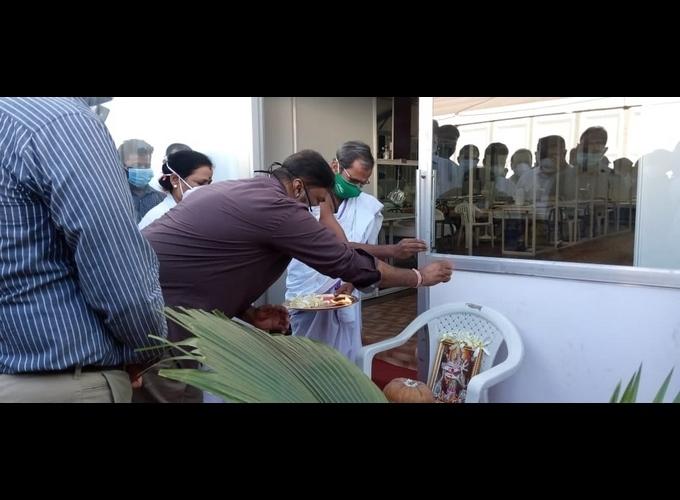 JSW Steel Set Up 1,000 Bed Covid Hospital At Toranagallu In Ballari
