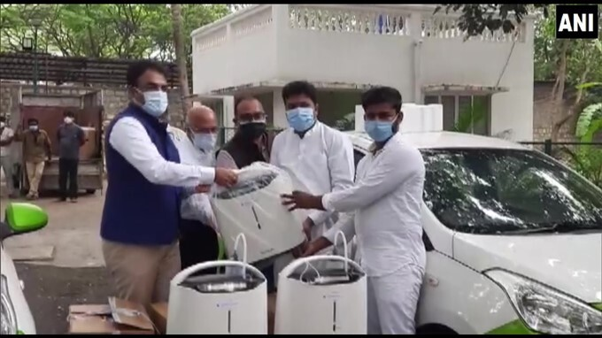 KA Dy CM Dr Ashwath Narayan Launches Oxygen Concentrators To Home Isolation Their Doorstep