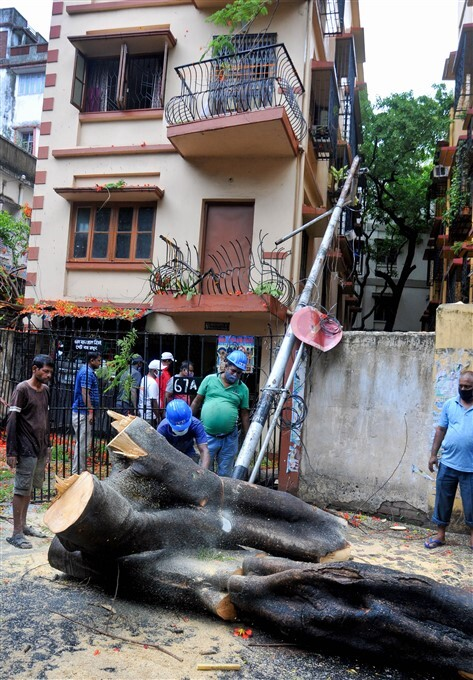 Cyclone Yaas: Damages Caused By Cyclone Yaas In West Bengal