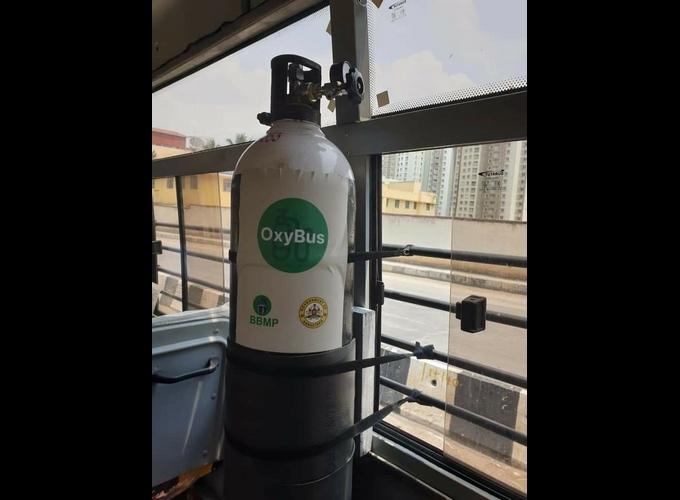 ಚಿತ್ರಗಳು; ಬೆಂಗಳೂರಲ್ಲಿ Oxygen On Wheels ಸೇವೆ