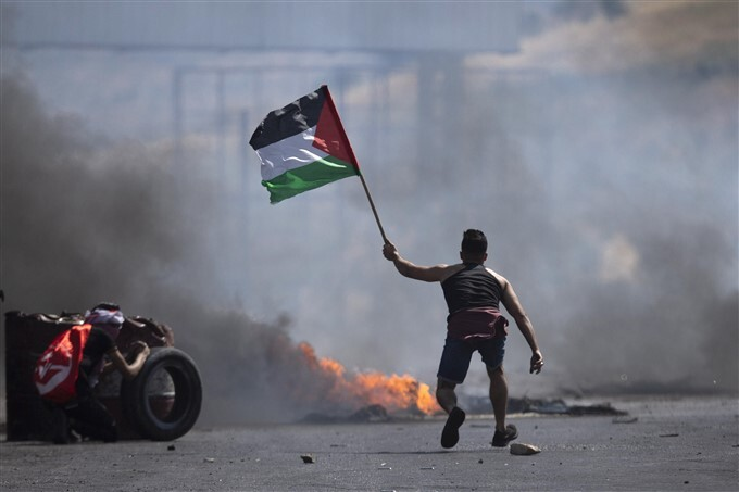 Palestinian Supporters Demonstration Against The Violence In Gaza