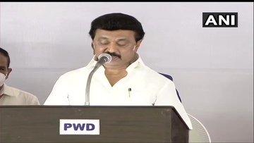 DMK Chief MK Stalin Sworn In As Chief Minister Tamil Nadu