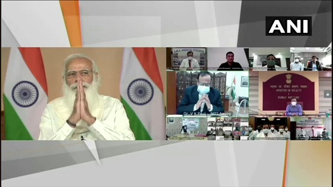 PM Narendra Modi Interacts With Doctors From Across Country