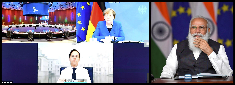 PM Narendra Modi Participates In India-EU Summit Through Video Conferencing