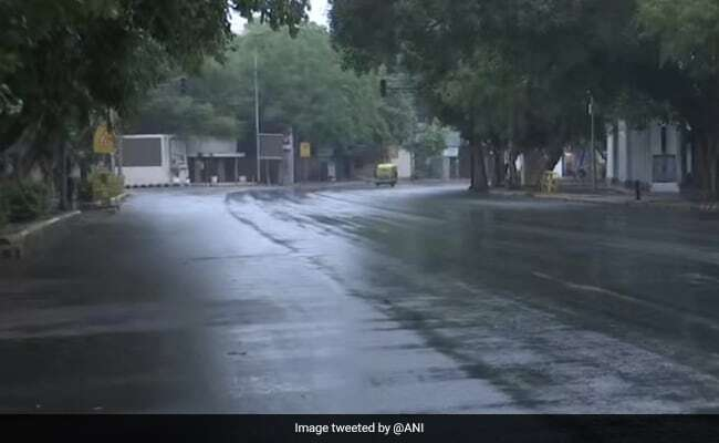Rainfall In National Capital New Delhi, 21/05/2021