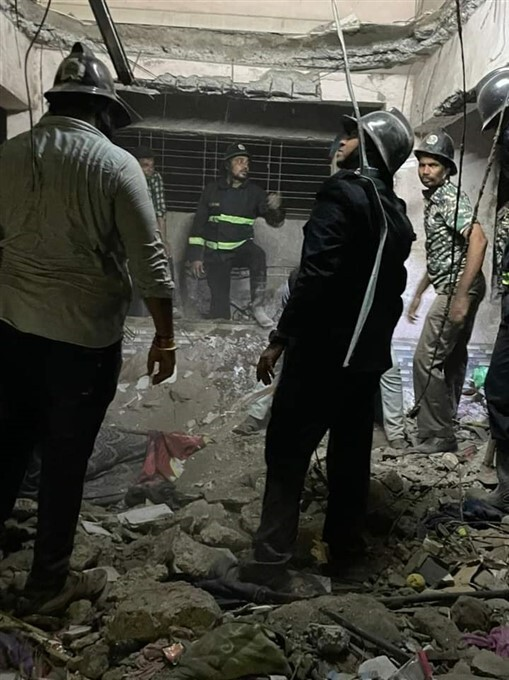 Residential Building Collapsed In Ulhasnagar Of Thane District