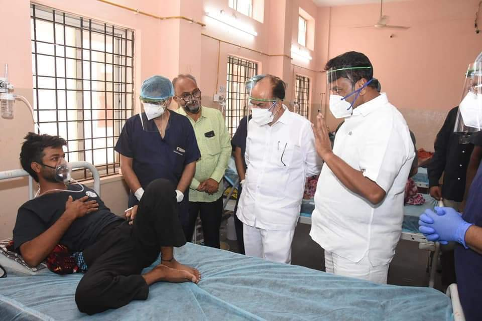 Telangana Ministers Visit Chest Hospital And Interacts With Patients