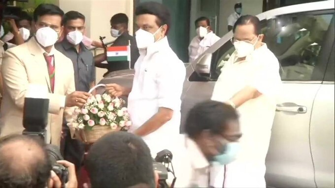 TN's Newly Elected MLAs Arrives To Take Oath In State Assembly In Chennai