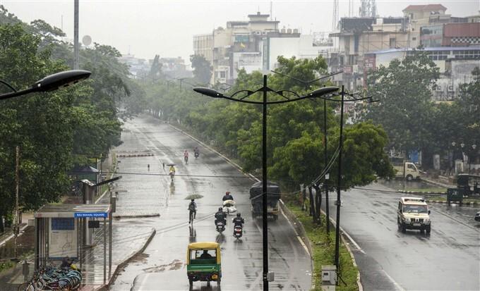 Cyclone Yaas: Heavy Rain Lashes In Odisha